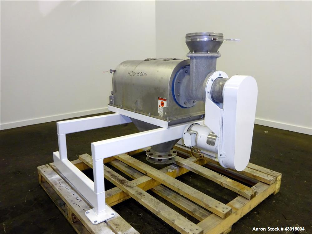 Used- Stainless Steel Prater Industries Rota-Sieve Centrifugal Sifter