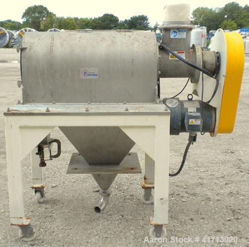 "Used- Prater Industries Rota-Sieve Centrifugal Sifter, Model RS-91C, 304 Stainless Steel. Approximate 8"" diameter x 23"" long..."