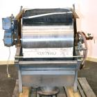 Used- Hycor Rotostrainer Automatic Wedgewire Screen, Model RSA2524-1, Type 2524-1 X .020, 304 Stainless Steel. 25