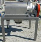 Used- Prater Industries Rotary Sieve, 316 stainless steel. Approximate 6
