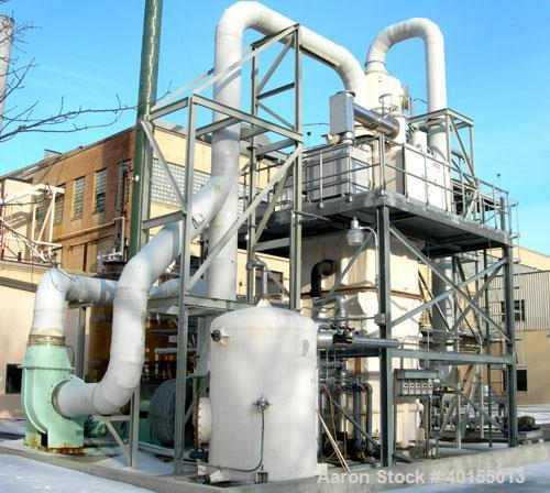 Used:  Beltran and Associates scrubber system consisting of: (1) Preciplasties Engineers wet electrostatic precipitator, mod...