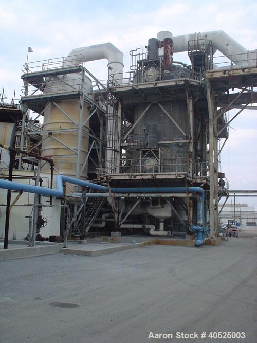 Unused-Envirocare Wet Electrostatic Precipitator (ESP), including scrubber vessels, with honeycomb (tubesheets), Hastelloy C...