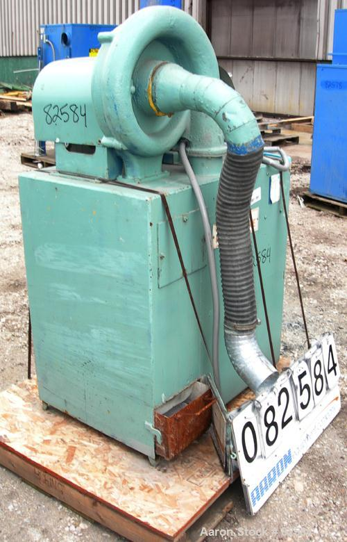 USED: AAF Rotoclone scrubber, type D, size 6, carbon steel. Driven by a 1.5 hp, 3/60/220/440 volt, 1725 rpm motor. Bottom pu...