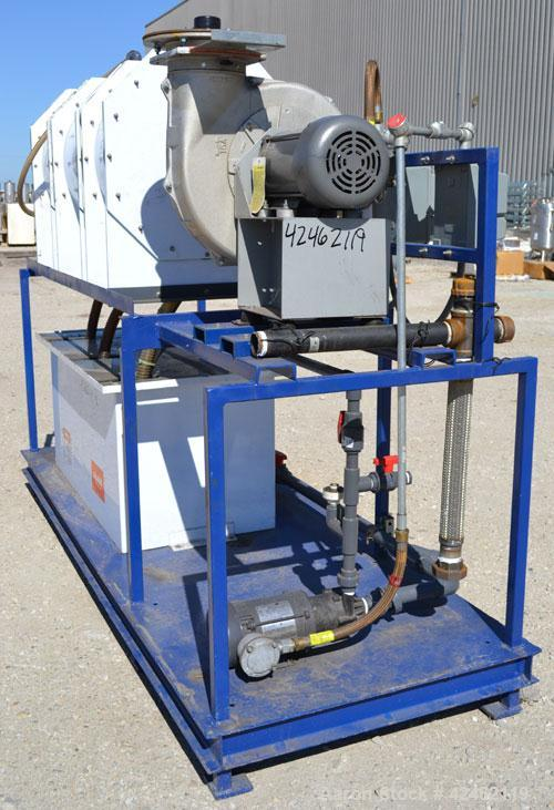 Used- Misonix Mystaire Compact Waterweb Scrubber, Model HS-312R-PP-00, Polypropylene construction. Nominal operating capacit...