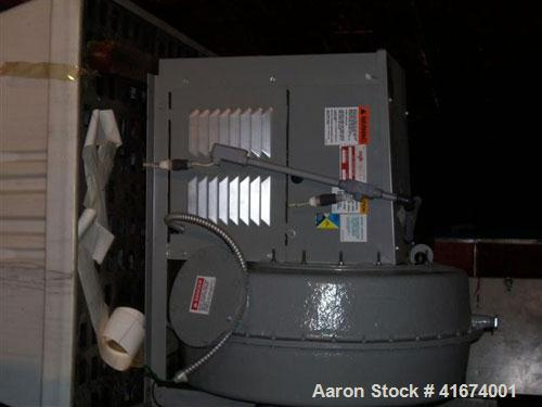 "Used-Packed Tower Scrubber, 4,000 CFM, Model TR-S-40. 47"" diameter, 14' long. Includes New York Blower Company fune exhauste..."