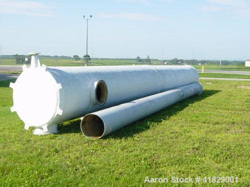 Used-US Filter Ethanol Process Scrubber. 48' diameter x 40', 6200 acfm, 80-95 deg F inlet gas temp, 50-60 deg F inlet water ...