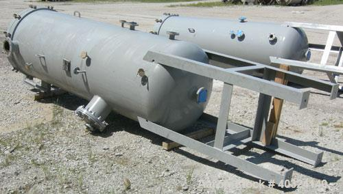 "Unused- Wintek Corp Scrubber/ Filter Tank, Model FT-42CS"", 500 gallon, vertical. Approximately 42"" diameter x 114"" straight ..."