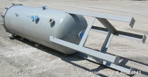 "Unused- Wintek Corp. Scrubber/ Filter Tank, 500 Gallon, Model FT-42CS"", Carbon Steel, Vertical. 42"" diameter x 114"" straight..."