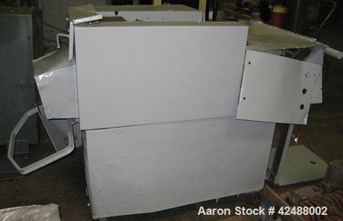 "Used- Amerishred AMS Model 750 Shredder. 16"" opening. Mounted on casters.  Approximate Overall Dimensions: 52"" x 37"" x 45"", ..."
