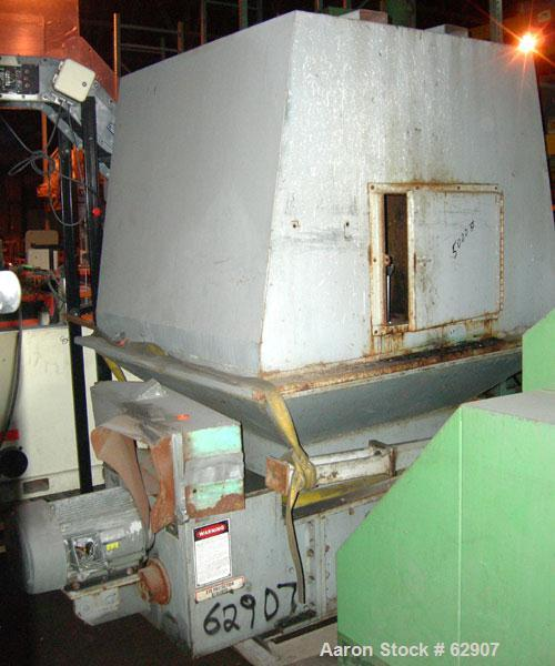"USED: American Pulverizer grinder. 26"" x 35"" feed opening, dual cam type blades driven by a 15 hp, 230/460, 1765 rpm motor. ..."