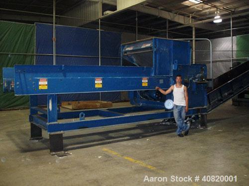 Used-Bale master shredder, hammermill type. 50 hp, 3 phase, 480 motor. Mfg 1985.