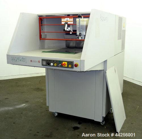 "Used- MBM DestroyIt Model 5009 Cross-Cut Shredder. 20"" Feed opening. Partical size 11/32"" x 1-1/2"" to 3"", sheet capacity 600..."