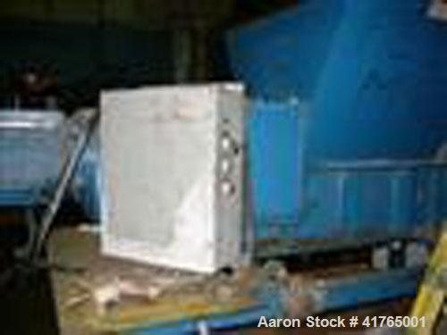 Used - Shred Pax Shredder, Model AZ-15. 220V/3 phase, 20 hp Sew Eurodrive motor with continuous cycle and gearbox. Rotor ope...