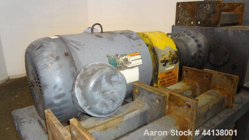 Used- SSI Shredding Systems Twin Shaft Shredder, Model 1200-E, Carbon Steel. (2) Rows of intermeshing hook knives approximat...