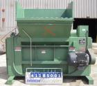 Used- Bloapco (Blower Application Co) Shredder, model 3FCS-4058BVA, carbon steel. (4) Shaft unit, approximately 58