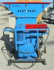 Used- Nordfab Poly Pres shredder, model Press-O-Matic, carbon steel. 19