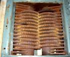 Unused-UNUSED: SSI twin shaft rotary shear shredder, model 500E, carbon steel. (2) rows of 16 intermeshing cutters. 18