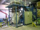 USED: Weima shredder, type WLK 20/2X55, complete line for resizing. (1) Super Jumbo, driven by 2 x 55 kW motors. Width of ro...