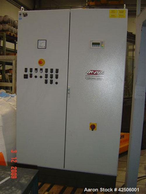 Used-Weima WLK 1200 Shredder, capacity 1102 lbs/h (500 kg/h), 100 hp/75 kW, 50 hz, consisting of: (1) Electrical control sys...
