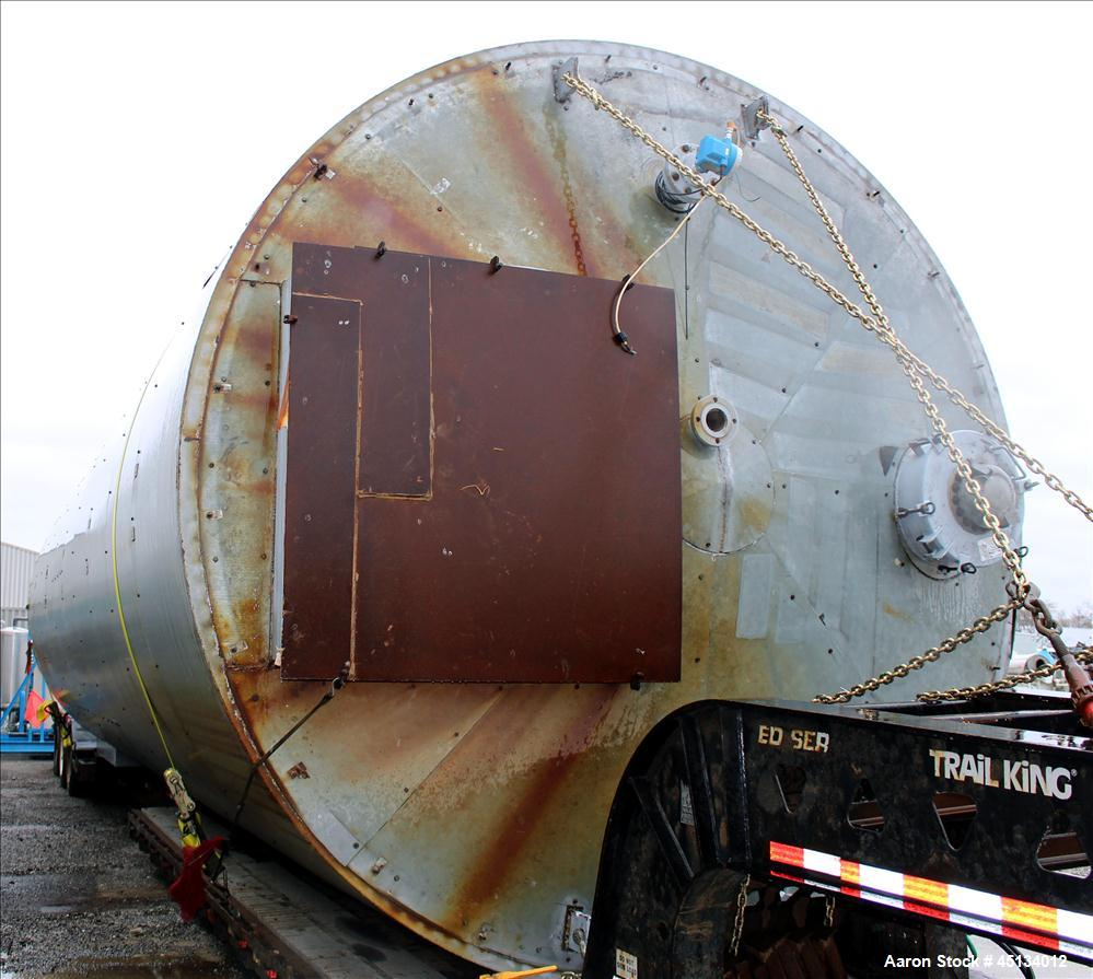 Used- Carbon Steel Silo, approximately 25,000 gallon