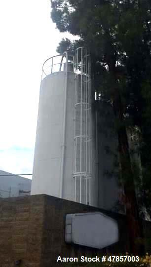 "Used- Silo, 30' Tall x 9'5"" Diameter. Includes ladders and catwalks. Last used to store small plastic pellets."