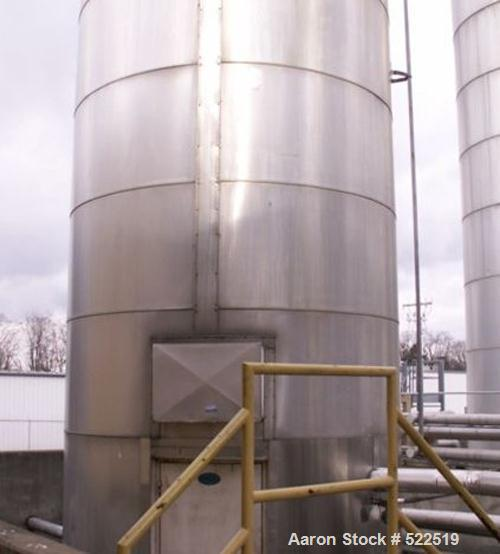 USED: Silo, carbon steel, 10' diameter x 55' high. Insulation withaluminum sheathing. 17,000 lb capacity.