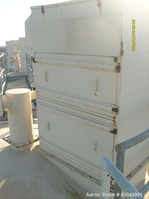 Used-Chemco Dry Bulk Storage Silos. System includes 3 silos, 11' diameter x 32' tall each, stair tower and catwalks. Previou...
