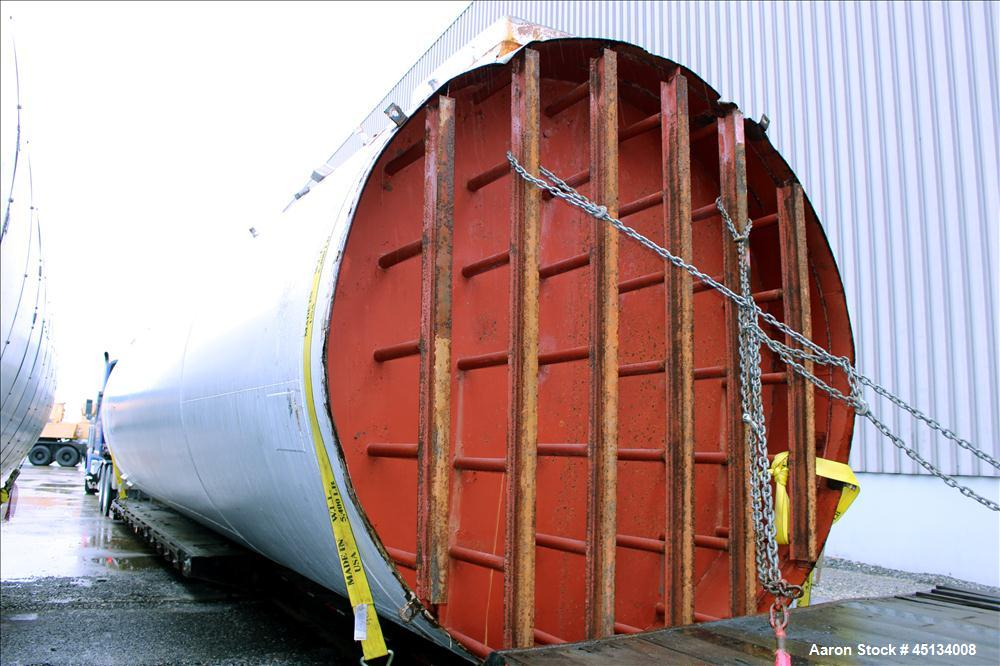 Used- Stainless Steel Creamery Package Silo