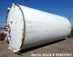 Used- Columbian Tec Tank Silo, 1730 Cubic feet (12,941.3 gallon), Carbon Steel
