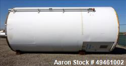 Used- Columbian Tec Tank Silo, 1730 Cubic feet (12941.3 gallon), Carbon Steel