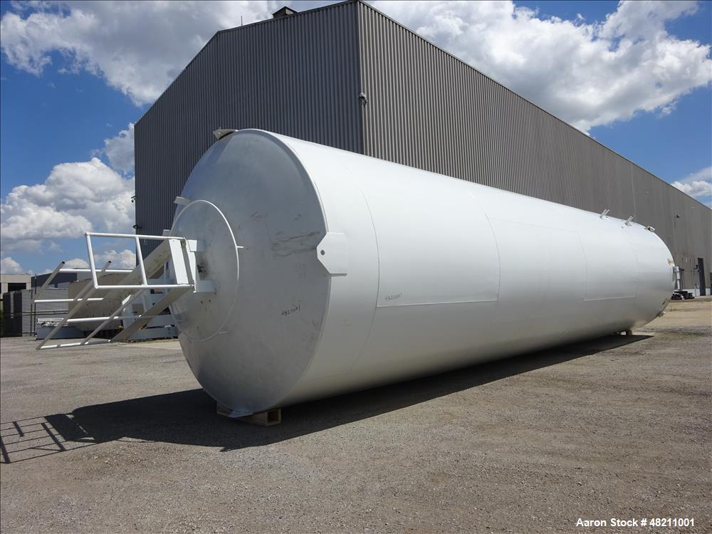 Used- Walker Stainless Cold Wall Storage Silo, 40,000 Gallon, Model 8037