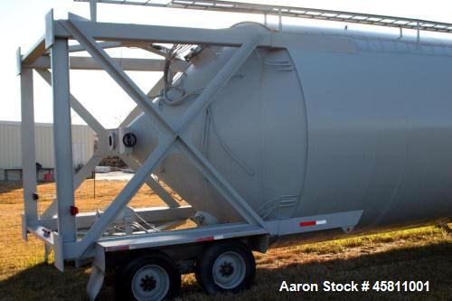 Used- WAM Portable Cement Silo, 2200cf, 550bbl.