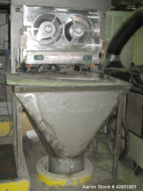 Used-Binacchi Soap Plodder, Model SRB350. Twin screw 350 mm.