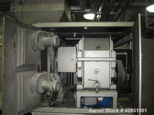 Used-Binacchi Soap Plodder, Model SRB350. Twin screw 350 mm.