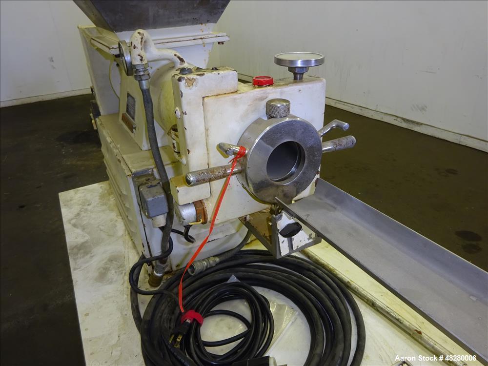 Used- Mazzoni Soap Extruder, Type M-100.