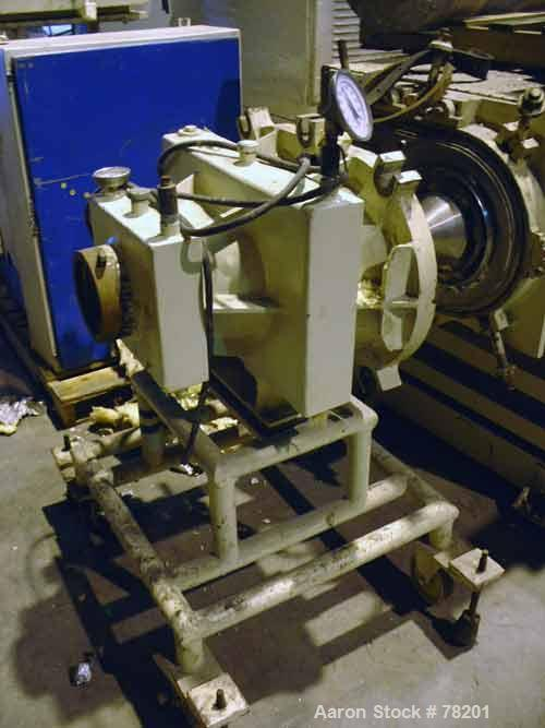 """USED- Mazzoni High Efficiency Soap Plodder/Extruder, Model M-400. Plodder:  stainless steel contact parts, 22-3/4"""" wide x 21..."""