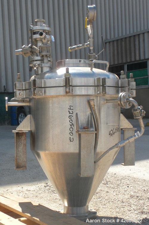 Used- 30 Gallon Hans Pedersen Group Hopper Tank