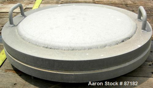 "USED: Tank, 6700 gallon, aluminum, horizontal. Approximate 106"" diameter x 158"" straight side, dished ends. Openings: top (4..."