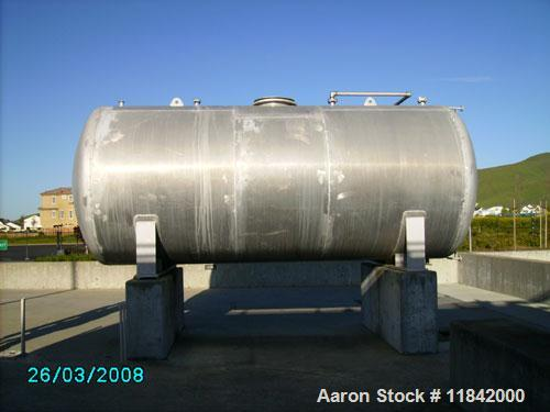 Unused-Used:  6800 gallon, Aluminum Tank, Model HST96-16.67U, Horizontal, Manufactured in 1990 by South Gate Engineering, 96...