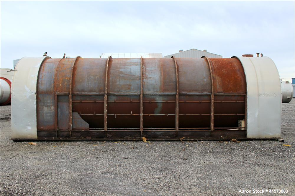 Used- 12,000 Gallon Carbon Steel Brothers Inc Tank, Model 11944