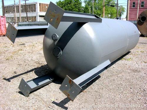"""Unused: Bigbee Steel pressure tank, 2487 gallons, carbon steel, vertical. Approximately 60"""" diameter x 15' straight side, di..."""