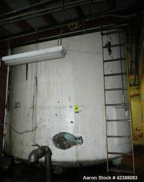 Used- Mild Steel Storage Tank 11'H X 12' Dia.
