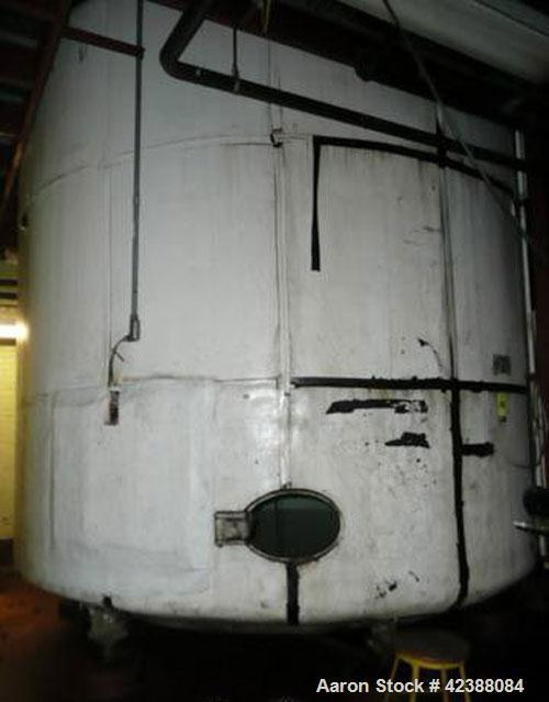 Used- Mild Steel Storage Tank 11'H X 12' Dia.