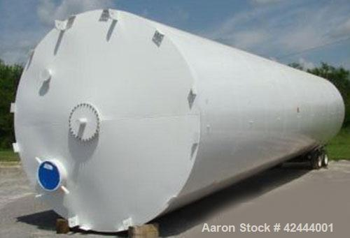Unused-Welded Carbon Steel Tank, 5,884 cubic feet level full capacity, 11.92' nominal inside diameter, 59.2' nominal cave he...