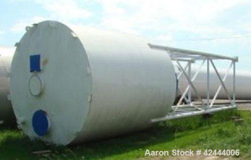 Unused-Carbon Steel Welded Tank, 1,872 cubic feet capacity, 11.92' nominal inside diameter, 38' nominal cave height, 13.62' ...