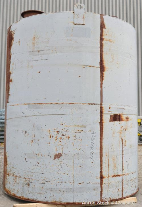 Used- Welded Production Condensate Carbon Steel Tank. Approximately 12' x 15', vertical. 12691 Gallons (300BBL).