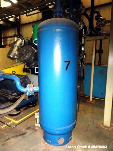 Used- Carbon Steel Fluid Engineering High Pressure Compressed Air Receiver Tank