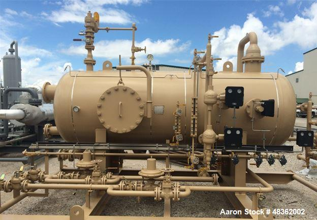 Unused- Horizontal Oil, Gas, Water Production Separator.