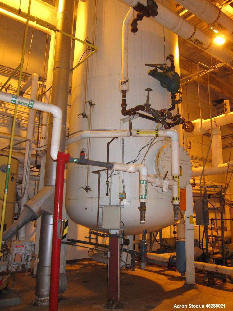 Used- 2,000 Gallon Carbon Steel Bufallo Tank Div Tank