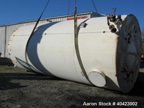 Used-Carbon steel Clawson tank 15,000 gallon.
